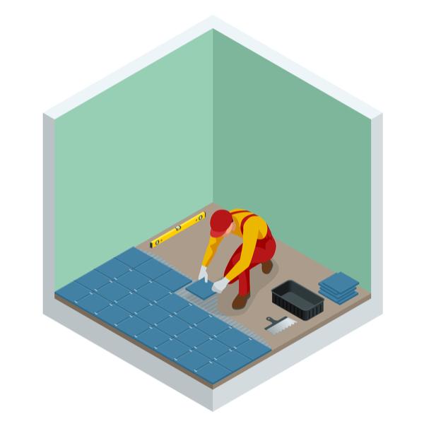 Comment poser ud carrelage céramique au sol ?